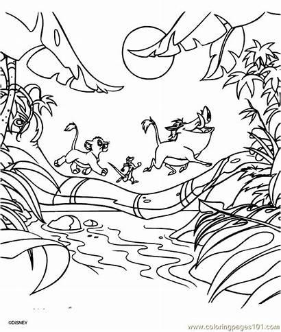 Lion King Coloring Pages Coloringpages101