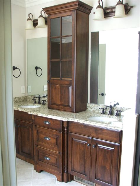 built  cabinet   bathroom dixon custom cabinetry