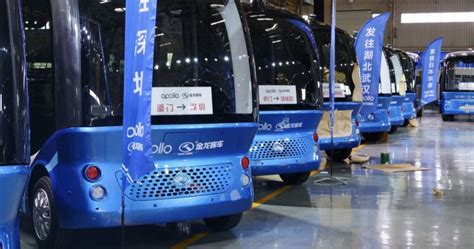 baidu s self driving buses will hit japan s streets next year