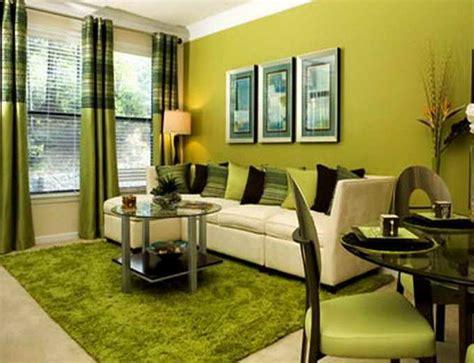gambar model ruang tamu warna hijau klasik