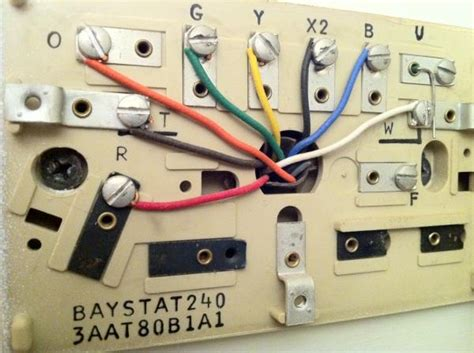 Weathertron Baystat 240 Wiring Diagram baystat240 to rth7600 doityourself community forums