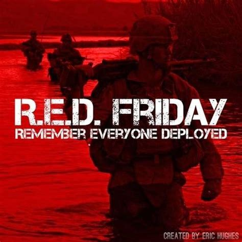 Image result for red shirt friday meaning