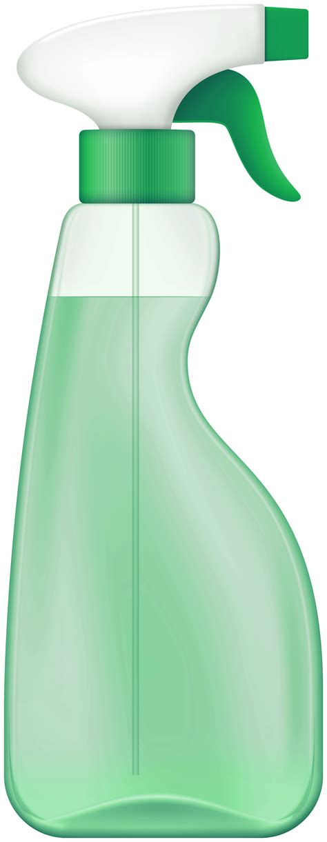 green spray cleaner png clip art  web clipart