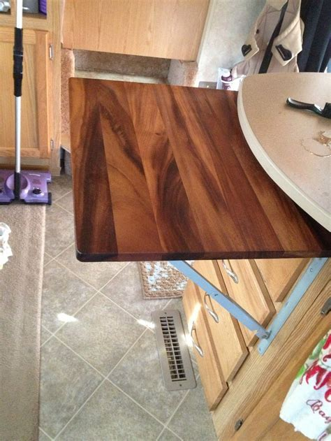 Flip up/down counter top/ cutting board for that extra