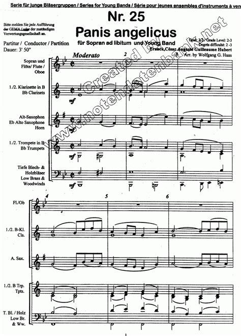 Testo Panis Angelicus by Musicainfo Net Detalles Panis Angelicus 3006326