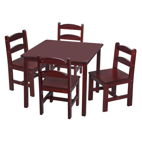 desk and chair set for students kids 39 table chair sets walmart com