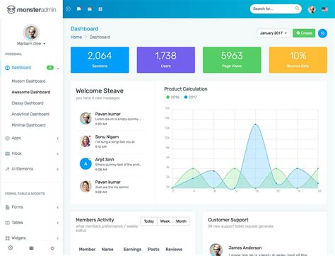 home design free software 20 best bootstrap admin templates 2018 athemes