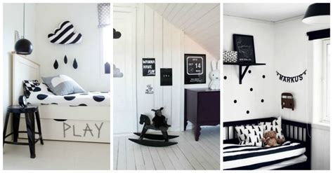 Black And White Children's Rooms Ideas