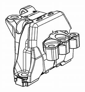 Dodge Dart Engine Mount Bracket  Front   Dart  Right  W  O