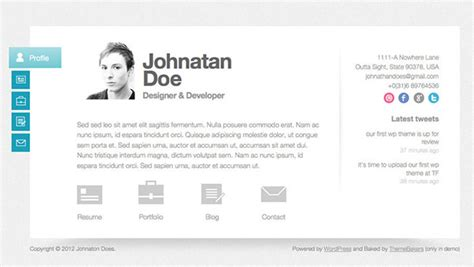 Wp Resume Manager Demo by The Resume Template That Will Get You You Want