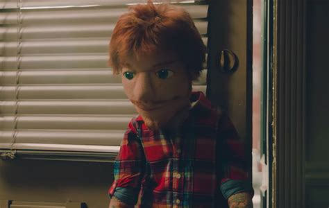 Ed Sheeran Is A Heartbroken Puppet In New 'happier' Video