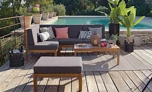 Salon Jardin Angle : choisir astucieusement ses meubles de jardin ~ Teatrodelosmanantiales.com Idées de Décoration
