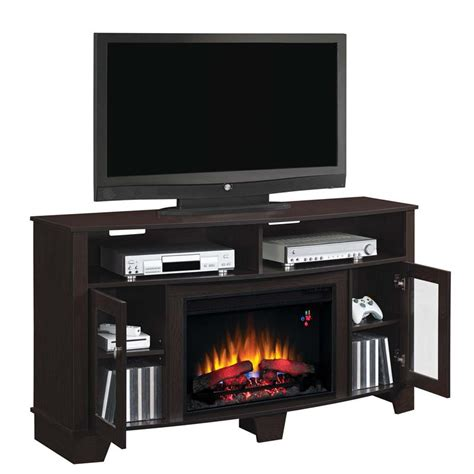classic flame la salle   tv stand  electric