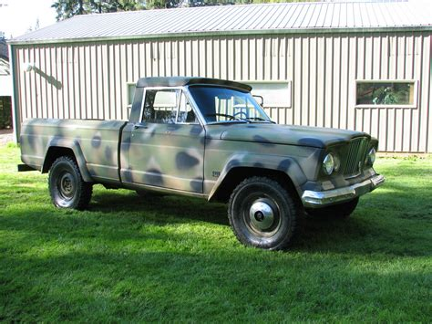 jeep gladiator 1966 1966 j 200 gladiator vancouver wa ebay ewillys