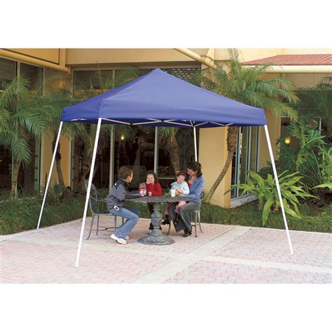 sofactory canap canopy factory pop up canopy 10ft l x 10ft w slant leg