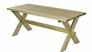 Table Bois Pique Nique : nostalgie table de jardin pique nique en bois 177x75x72cm ~ Melissatoandfro.com Idées de Décoration