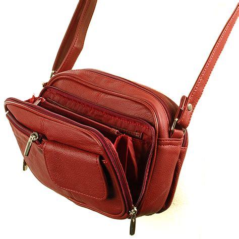 crossbody bags for travel womens leather organizer purse shoulder bag handbag cross