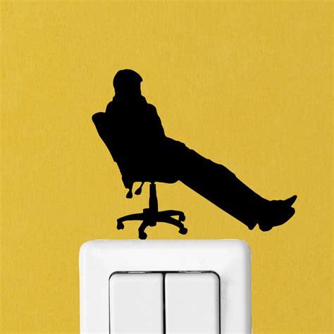 stickers pour bureau stickers prises et interrupteurs sticker mural bureau