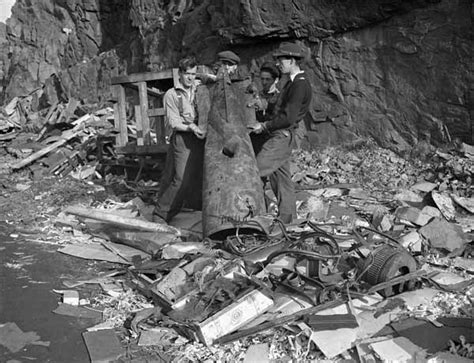 German U Boat Attacks Newfoundland by Bell Island Sinkings