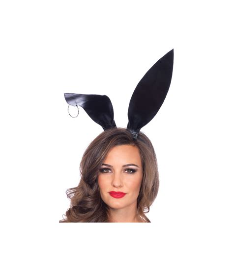oversized black bunny ears costume accessories