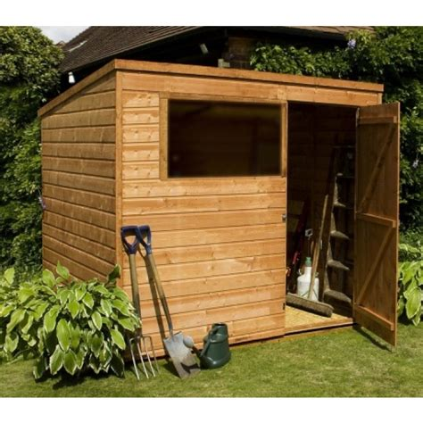 Buy Mercia Shiplap Osb Pent Shed 8x6