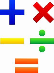 Mathematical Symbols Set - Free Clip Art