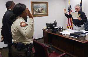 Sheriff Wooten swore in our two newest... - Coffee County ...