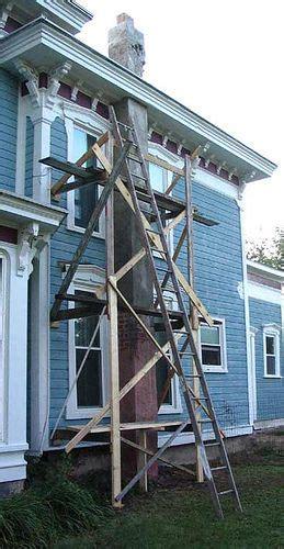 homemade scaffolding  fixerupper  flickr