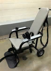 County Jail Restraint Chair