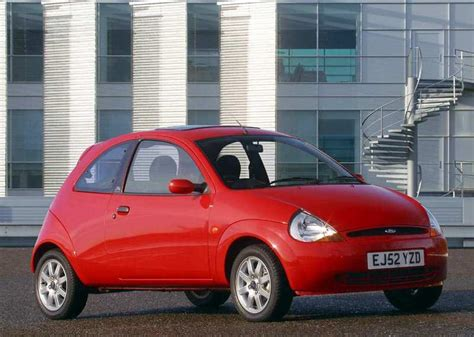 The blueprint of the vehicle is influenced by the veyron, however, the front fascia, the wheels and the blue exterior paint have been taken from an image of a ford ka. Galería de fotos Ford Ka 2003 - Arpem.com