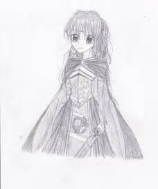 Anime Princess Medieval Drawing