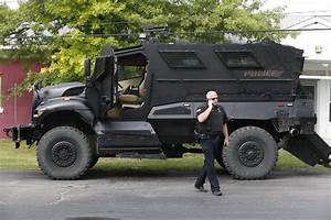 Armored vehicle designed for war is out of place in ...