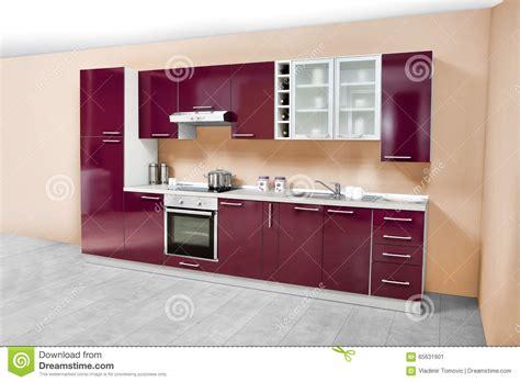mobilia cuisine cuisine moderne meubles en bois simple et propre image