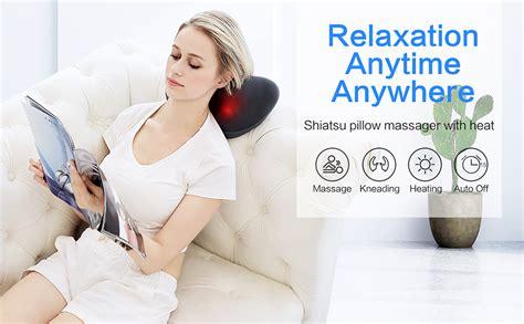 Amazon.com: Shiatsu Neck Back Massager,Massage Pillow with