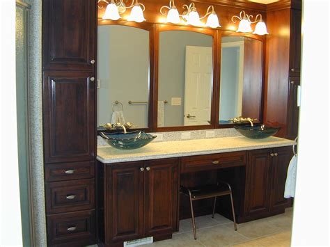 ideas for bathroom vanities and cabinets appealing bathroom linen cabinets and vanities