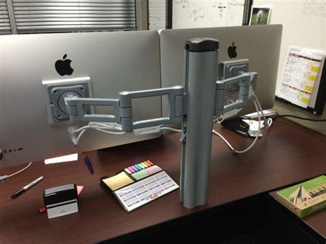 mobilepro desk mount combo mac setups the vp of projects office
