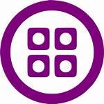 Purple Posterous Spaces Icons Icon Social Custom