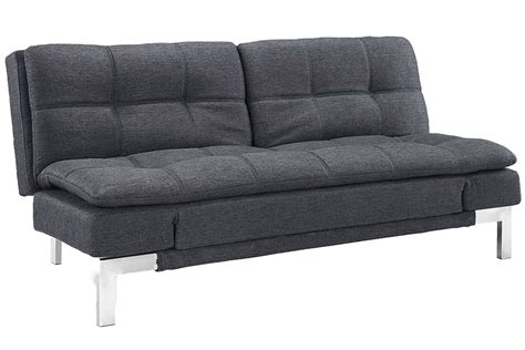 contemporary sleeper sofa bed simple modern futon sofa bed grey boca futon the futon shop