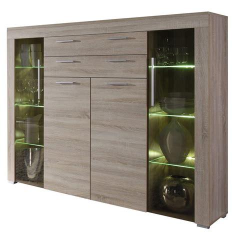 credenze e vetrine moderne vetrina moderna azalea credenza con led mobile soggiorno