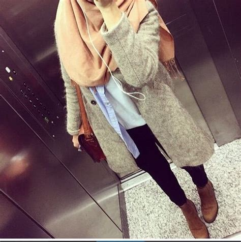 image   heart  bag casual coat fashion girl