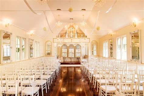 white wedding church top maleny wedding venue