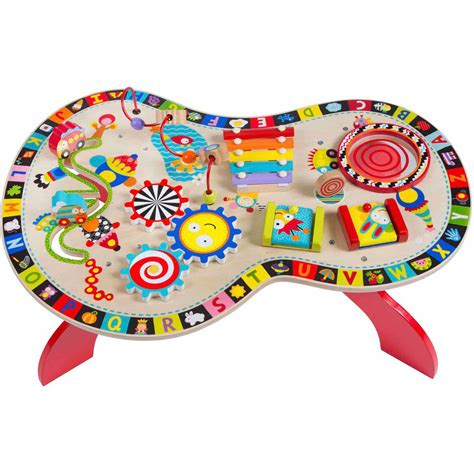 baby activity table wooden alex toys alex jr sound and play busy table baby activity