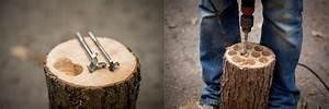Lampe Aus Baumstamm : lampe aus baumstamm wandleuchten holzlampe baumstamm lampe ein designerst ck von boholz bei ~ Orissabook.com Haus und Dekorationen