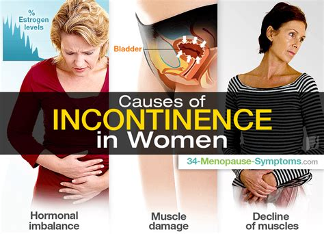 Causes of Incontinence in Women | Menopause Now