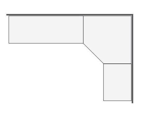 angle plan de travail cuisine plan de travail d angle cuisine uteyo