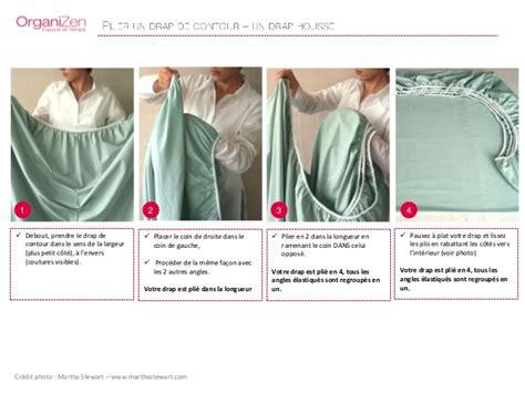 plier un drap housse tutoriel organizen plier drap housse nappe
