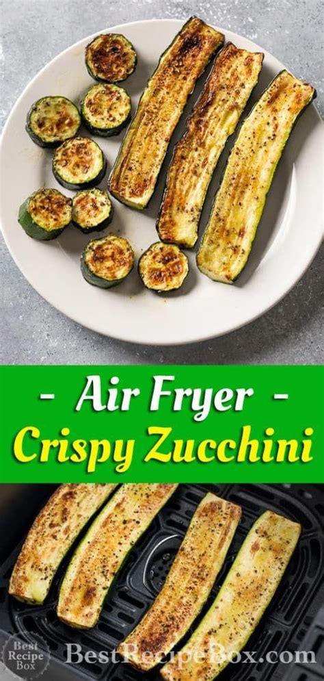 air fryer recipes zucchini recipe healthy fried carb low garlic easy box bestrecipebox chips cook club dinner grilled veggies airfryerblog