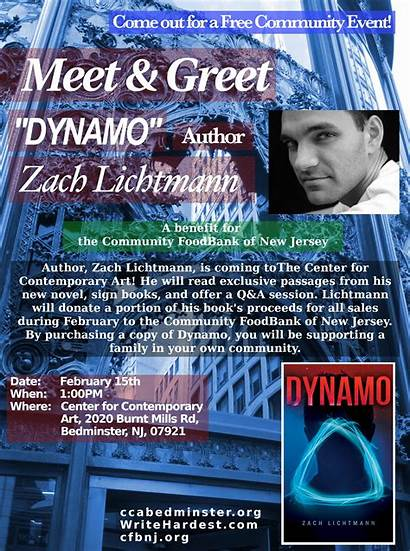 Meet Author Greet Saturday February