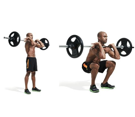 leg weight machines for home front barbell squat benefits and grips to perform the