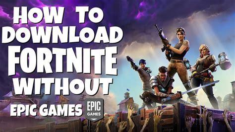 fortnite    epic games pc